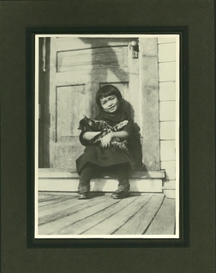Helen Mah with Mrs. Springer`s cat (Large).jpg